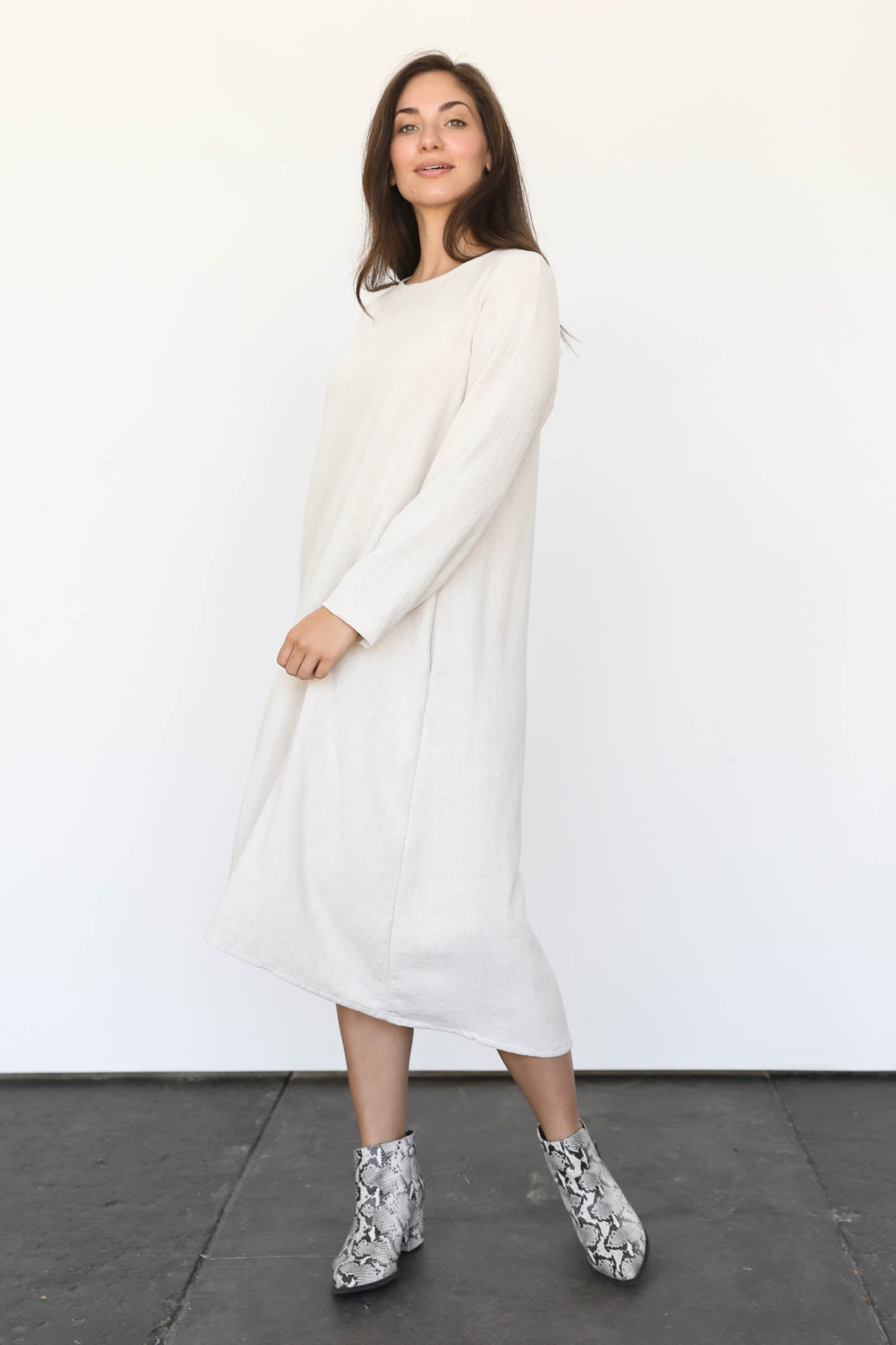 Mesa Midi Dress in Cotton