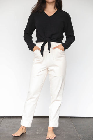 Tide Slim Leg Pants in Tencel
