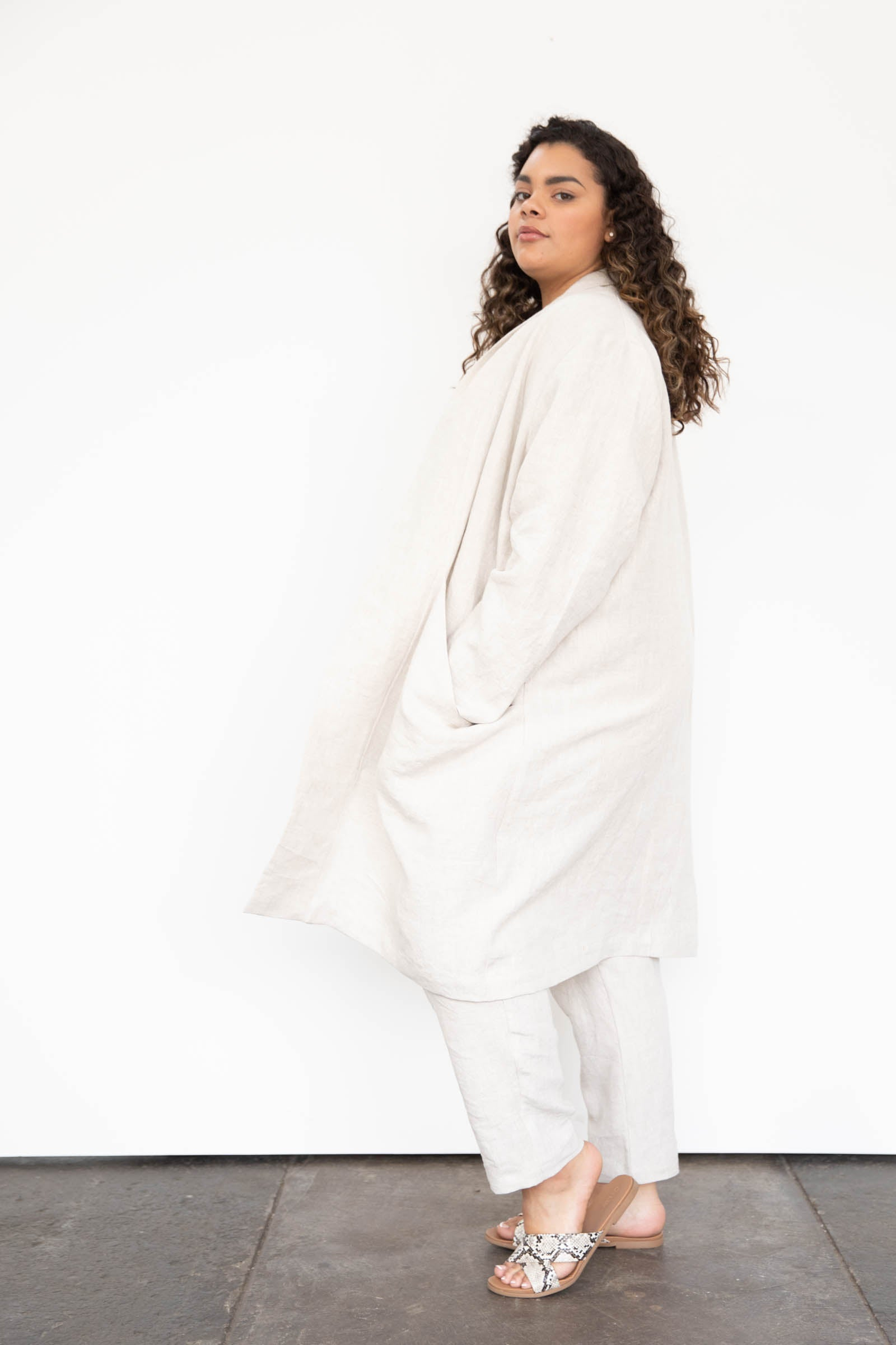 Cardiff Trench in Linen