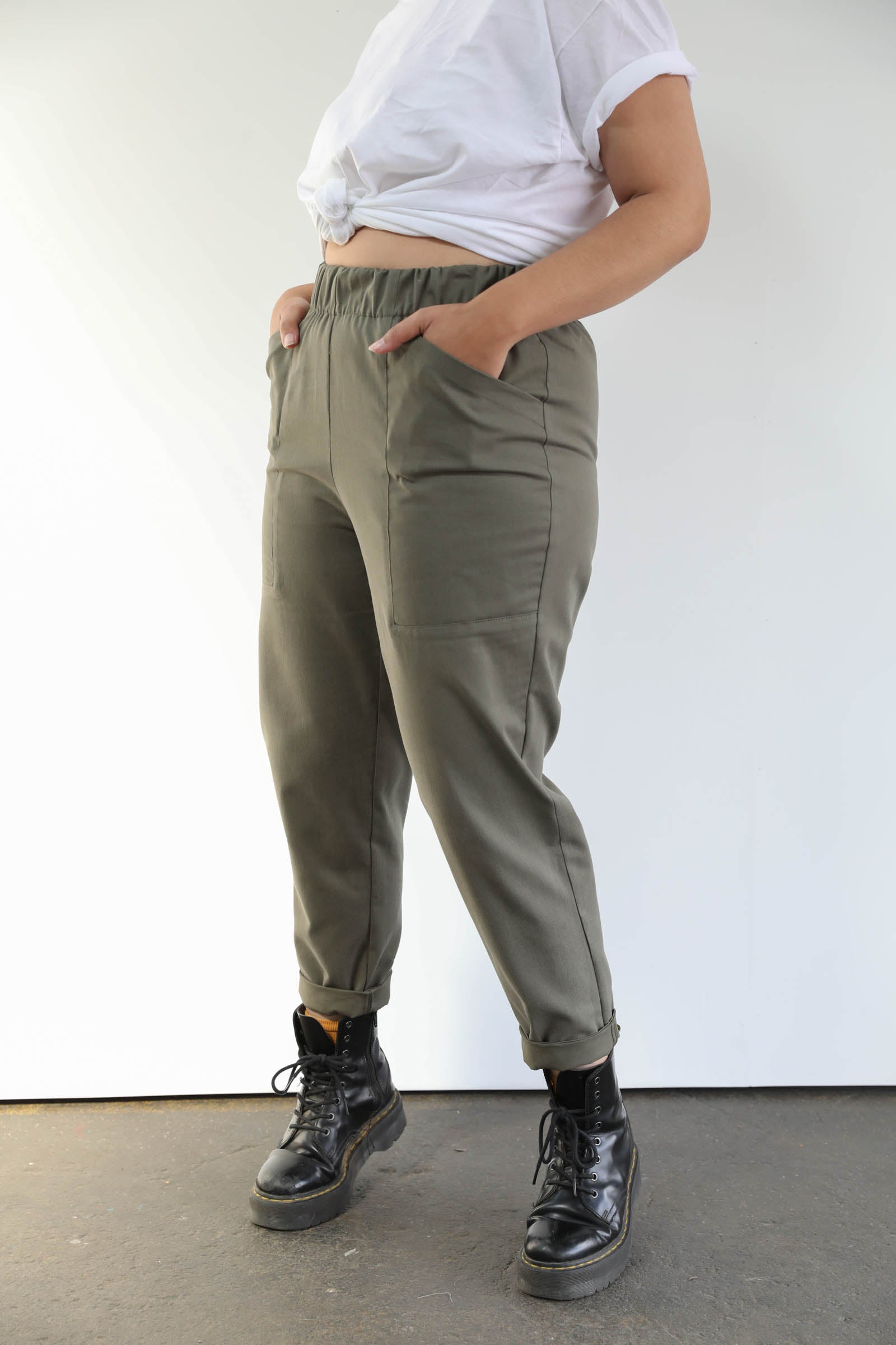 Ryan Pants in Cotton Twill