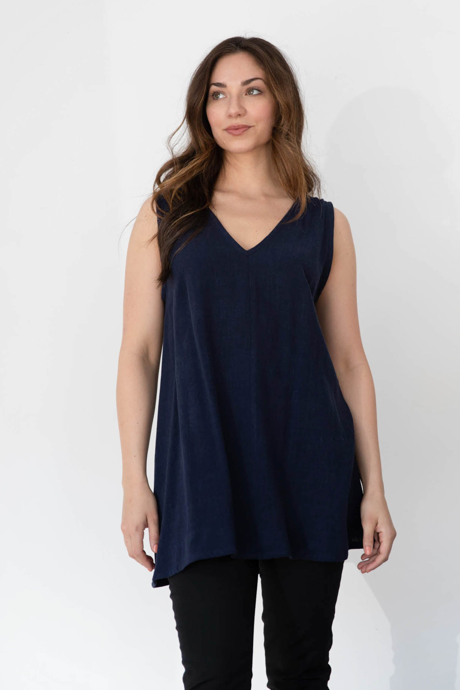 Hayes Tunic in Cotton