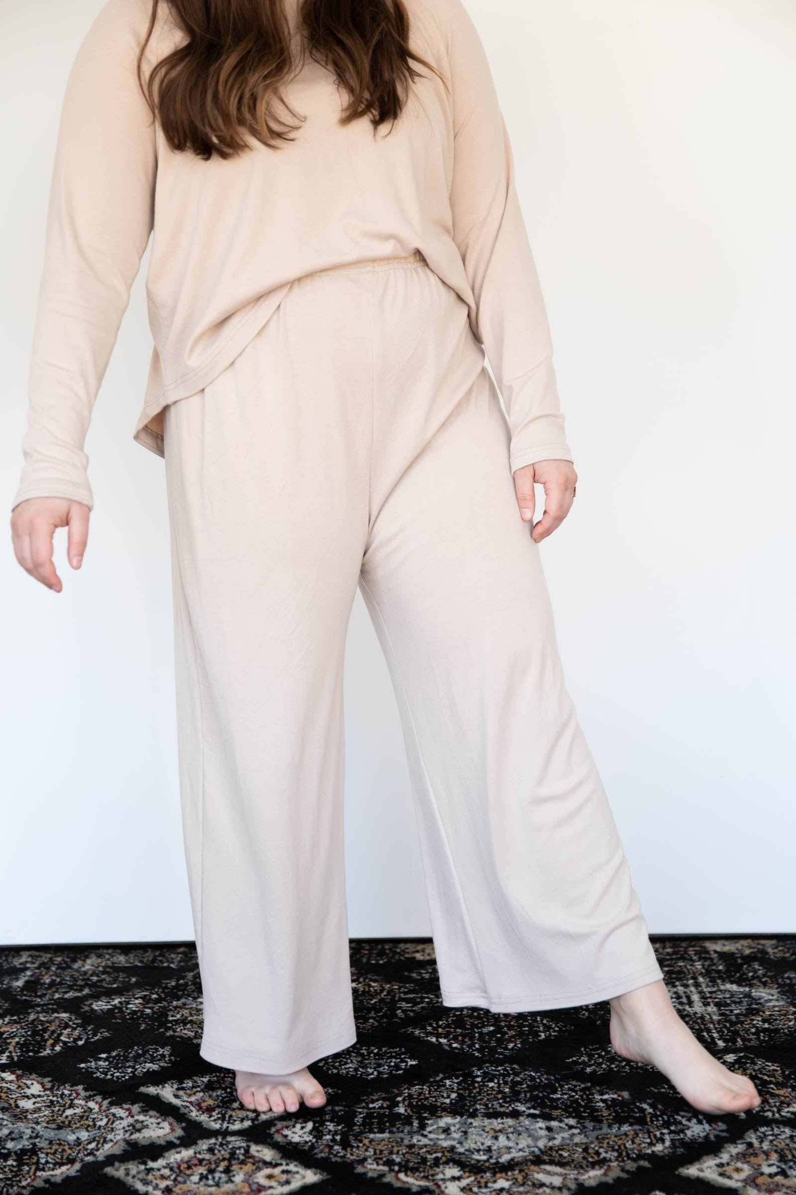 Relaxed Wide Leg Loungers