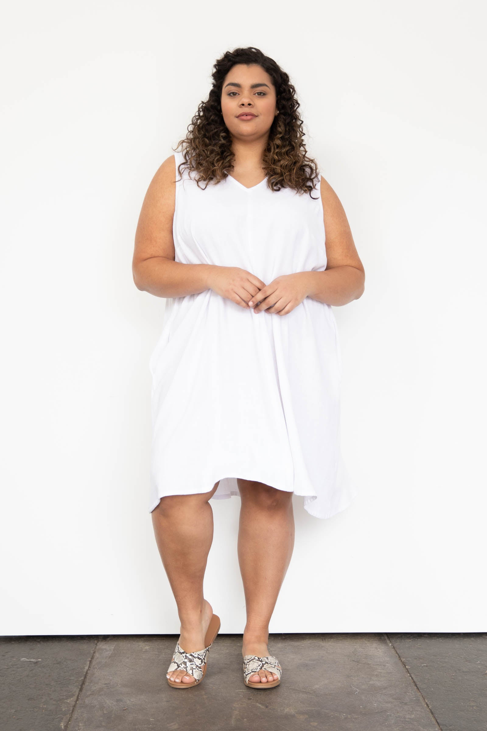 Hayes Dress in Cotton