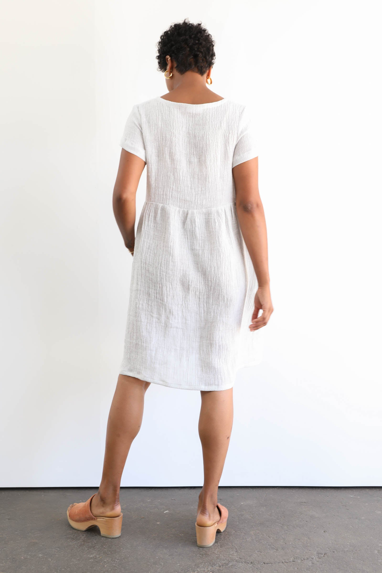 Park Dress in Linen Gauze