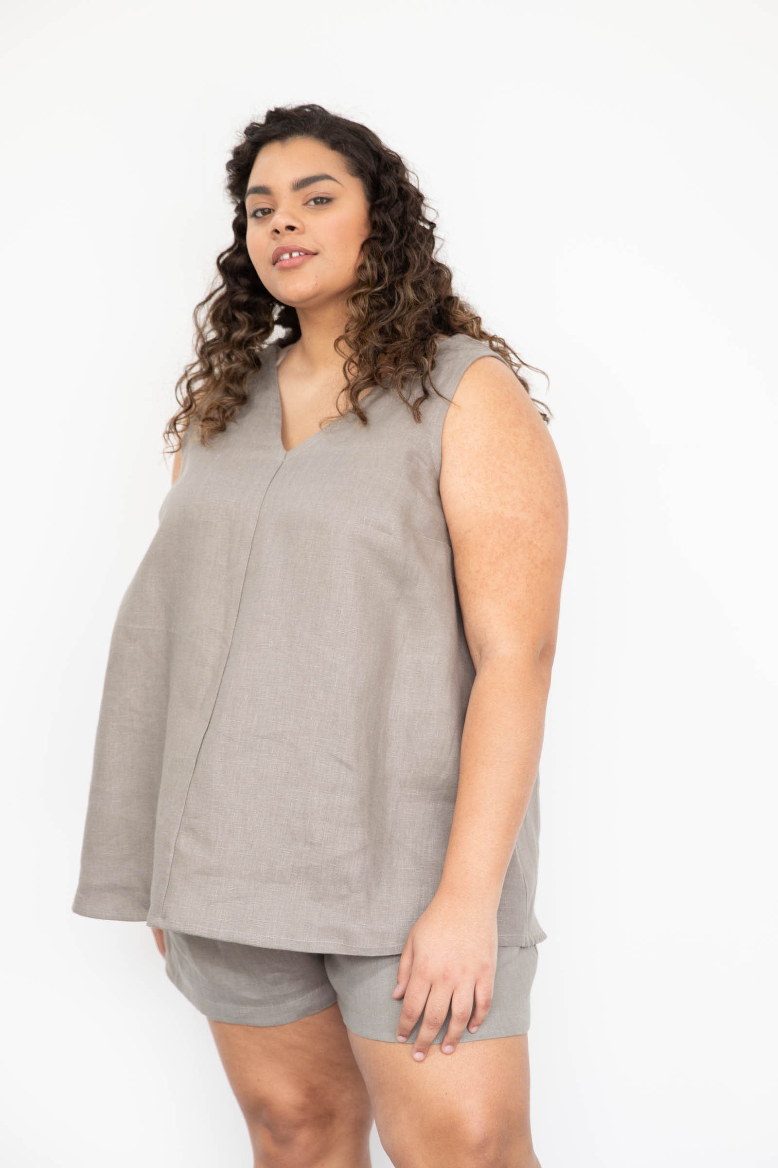 Hayes Tunic in Linen