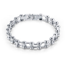 Load image into Gallery viewer, Motorcycle Chain Bracelet