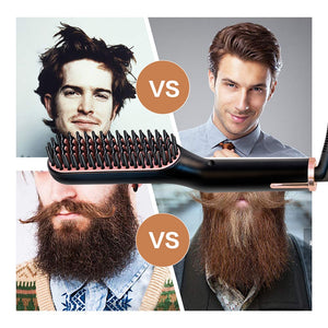 Beard/Hair Straightener Grooming kit