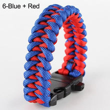 Load image into Gallery viewer, Hot Survival Parachute Cord Bracelet