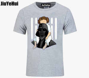 Star Wars Darth Vader & Leia  - Number One Dad T Shirt