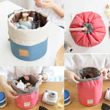 Barrel Shaped Make Up Bag - Perfect For travel