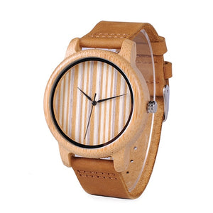 BOBO BIRD Wooden Mens Quartz  Wrist Watch in Gift Box