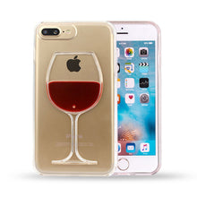 Load image into Gallery viewer, Red Wine Glass iPhone Case