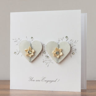 Handmade Engagement Card  'You are Engaged!'