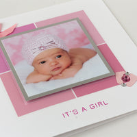 New Baby Photo Card 'It's a Girl'
