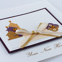 Handmade New Home Card  'Your New Home'