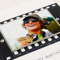 Handmade Birthday Photo Card 'Film Strip'