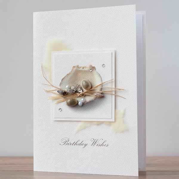 Luxury Boxed Birthday Card 'Ocean'