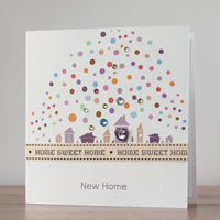 Handmade New Home Card  'Home Sweet Home'