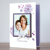 Photo Mother's Day Card 'Lovely Mum'