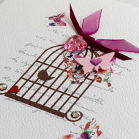 Handmade Thank You Card 'Splendid Thank You'