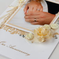 Photo Anniversary Card 'On Our Anniversary'