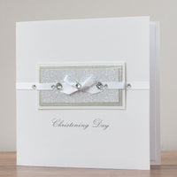 Handmade Christening Card  'Christening Day'