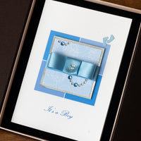Luxury Boxed New Baby Card  'It's a Boy'