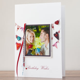 Handmade Birthday Photo Card 'Birthday Celebrations'