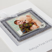 Luxury Photo Christmas Card 'Baby's First Christmas'