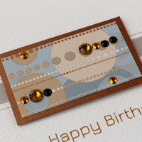 Handmade Birthday Card 'Riviera'