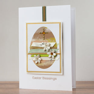 Luxury Boxed Easter Card 'Easter Blessings'