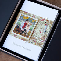 Luxury Photo Christmas Card 'Season's Greetings'