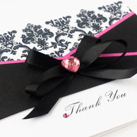 Handmade Thank You Card 'Stylish Thank You'