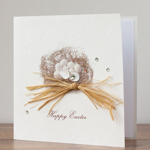 Handmade Easter Card 'Easter Nest'