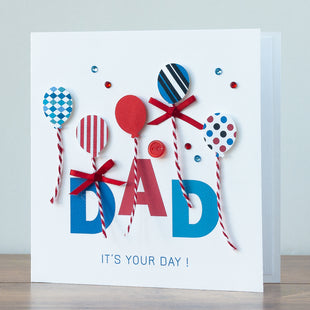 Handmade Father's Day Card  'Dad's Day'