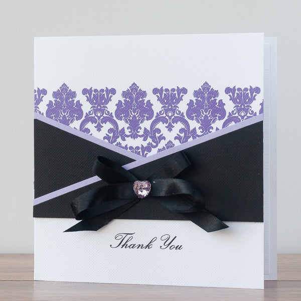 Handmade Thank You Card 'Classy Thank You'