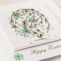 Handmade Easter Card 'Spring Egg'