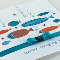 Handmade Father's Day Card  'Catch a Fish'