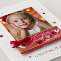 Luxury Photo Christmas Card 'Christmas Bliss'