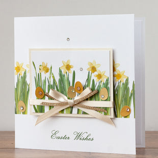 Handmade Easter Card 'Spring Daffodils'