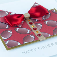 Handmade Father's Day Card  'Rugby Dad'