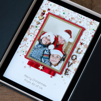 Luxury Photo Christmas Card 'Christmas Together'