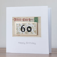 Handmade Birthday Card '60th Birthday'