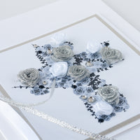 Luxury Boxed Christening Card 'Christening Cross'