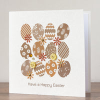 Handmade Easter Card 'Egg Hunt'
