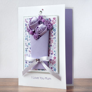 Luxury Boxed Mother's Day Card 'Amazing Flowers'