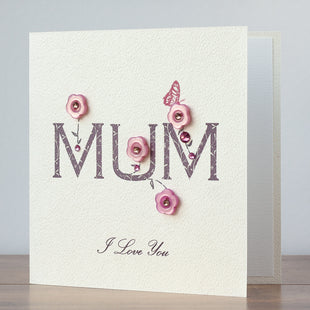 Handmade Mother's Day Card 'MUM'
