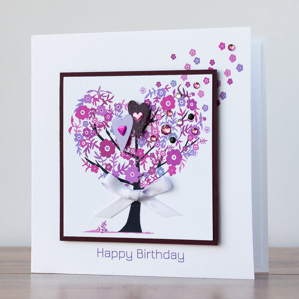 Handmade Birthday Card 'Birthday Blooms'
