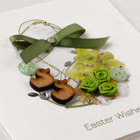 Handmade Easter Card 'Easter Ducks'