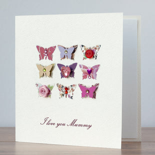 Handmade Mother's Day Card 'Butterflies'